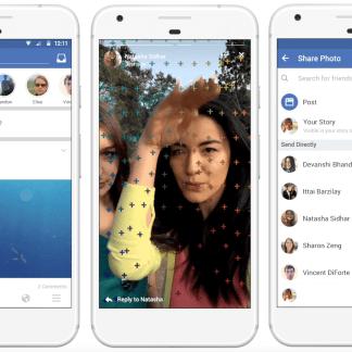 Facebook se met aussi aux Stories, copiant Instagram et Snapchat