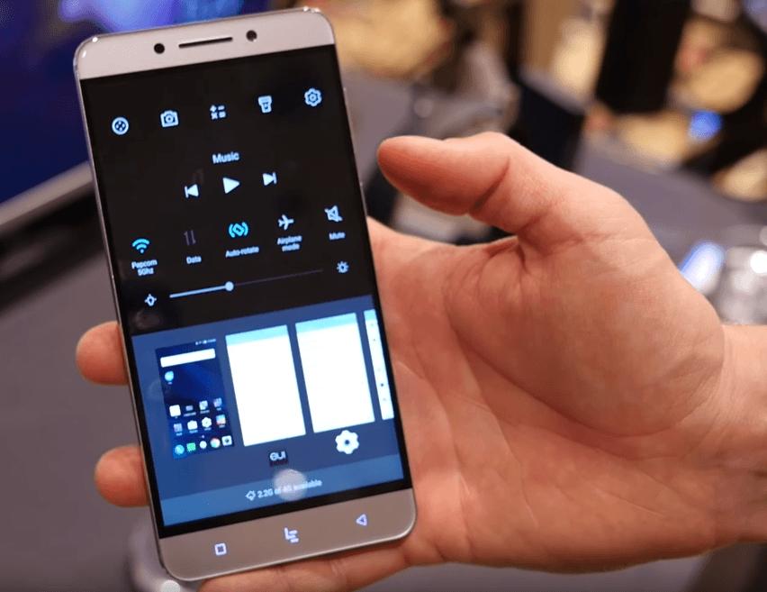Vidéo : Prise en main des LeEco Le Pro3, Le S3 et du téléviseur Android TV