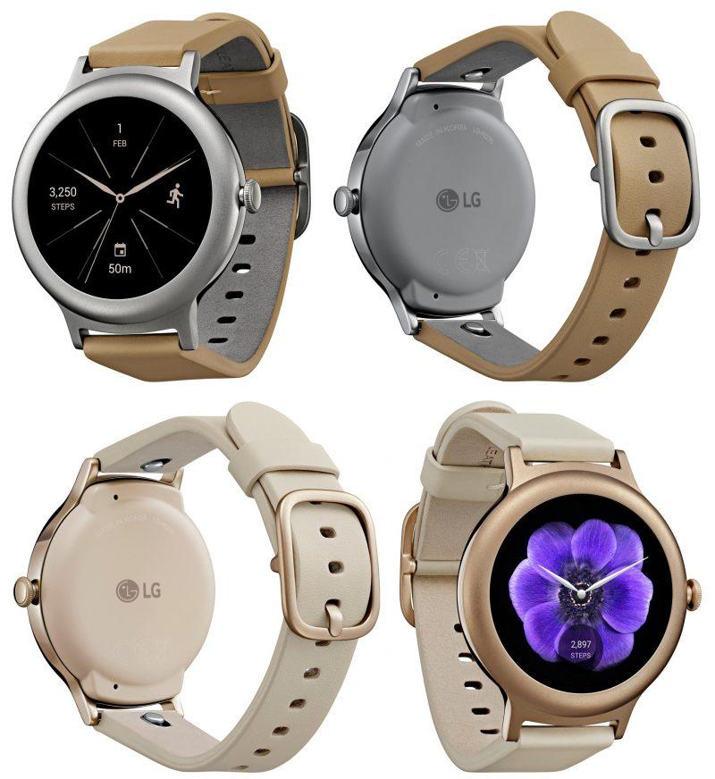 Voici la LG Watch Style, une des prochaines montres sous Android Wear 2.0