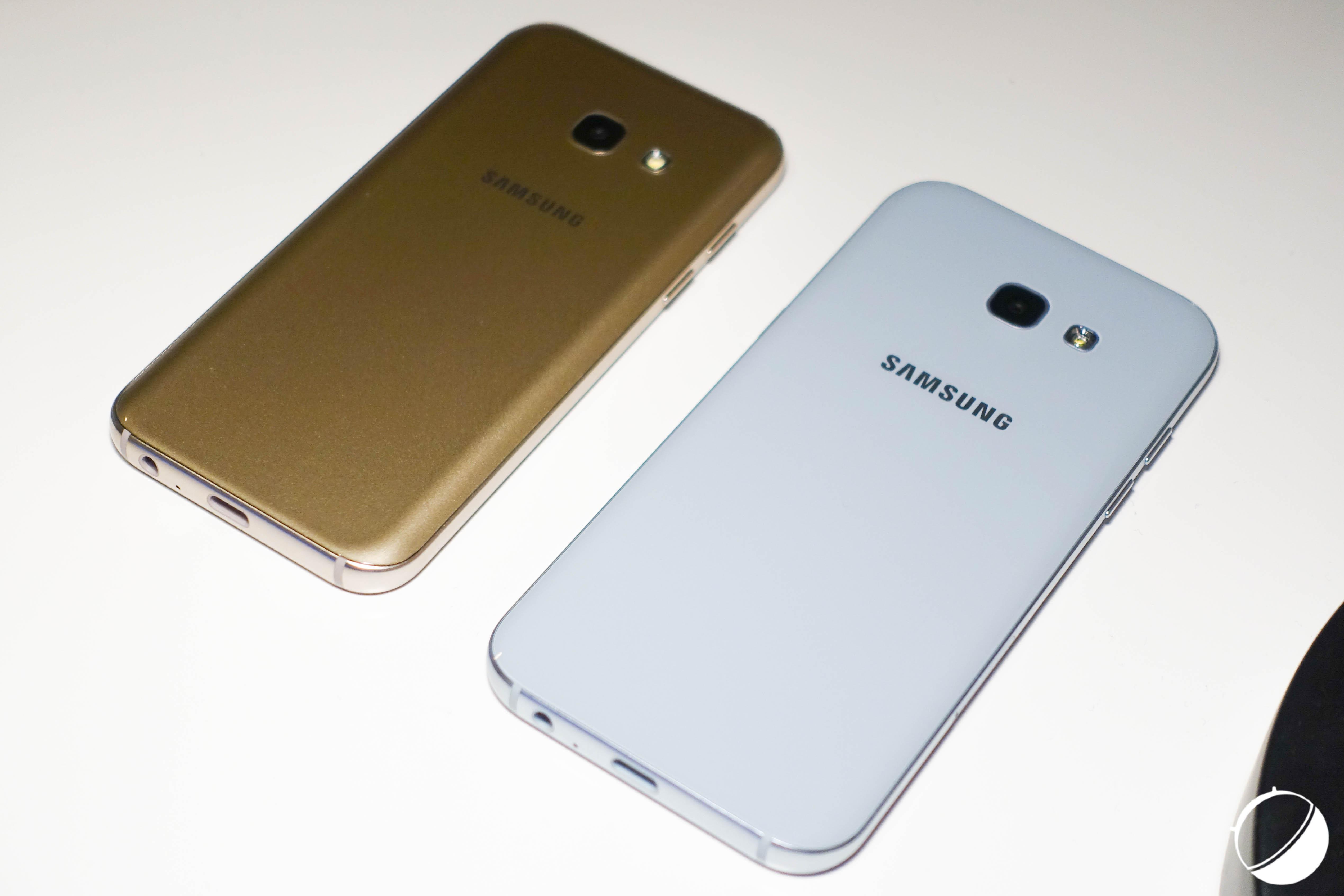 Les Samsung Galaxy A3 et A5 (2017) sont disponibles à la vente, en précommande