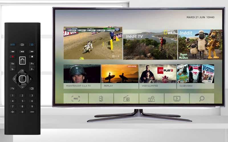Voici SFR Décodeur Plus, la nouvelle box TV 4K pour les clients Fibre et xDSL