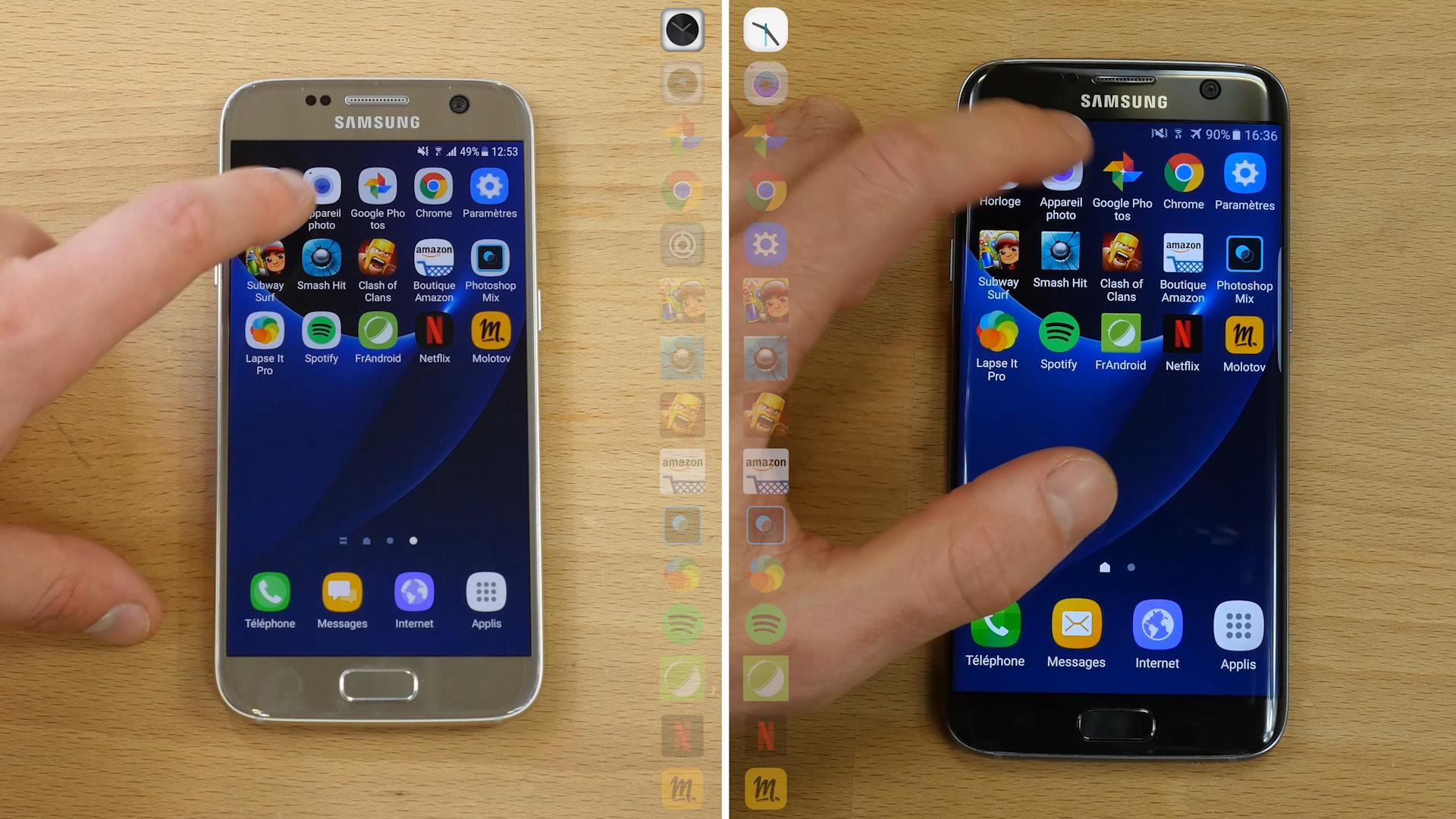 Samsung Galaxy S7 : quelle est la différence de performances entre Nougat et Marshmallow ?