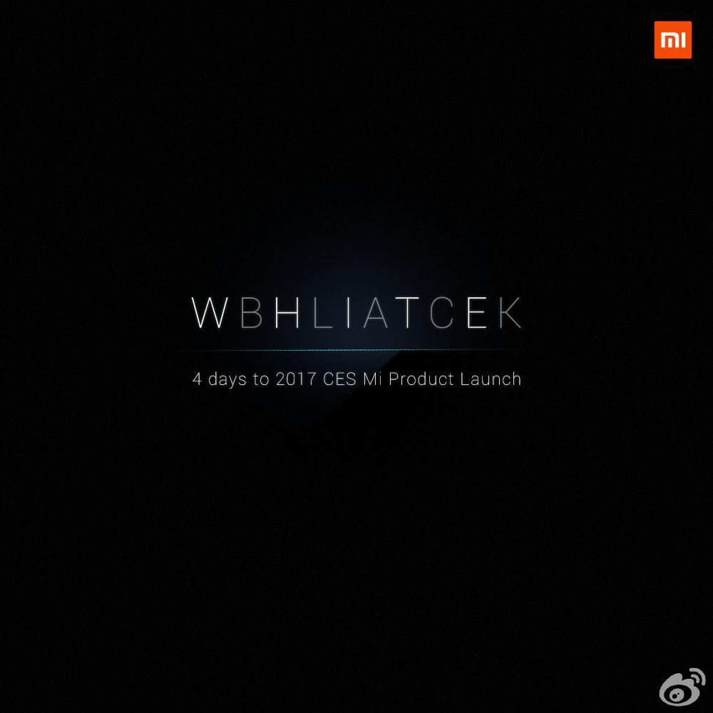 Un Xiaomi Mi MIX blanc pourrait être dévoilé au CES 2017