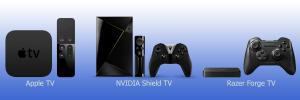 Nvidia Shield TV vs Apple TV vs Razer Forge TV : comparatif de 3 boîtiers multimédias