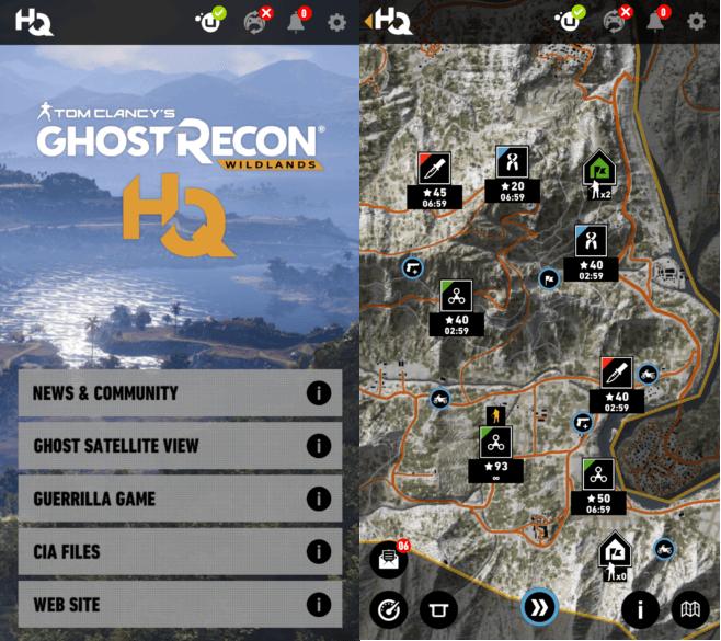 Tom Clancy's Ghost Recon Wildlands HQ : voici l'application compagnon