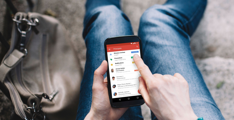 Gmail : les mails dynamiques rendent votre boite de réception plus efficace