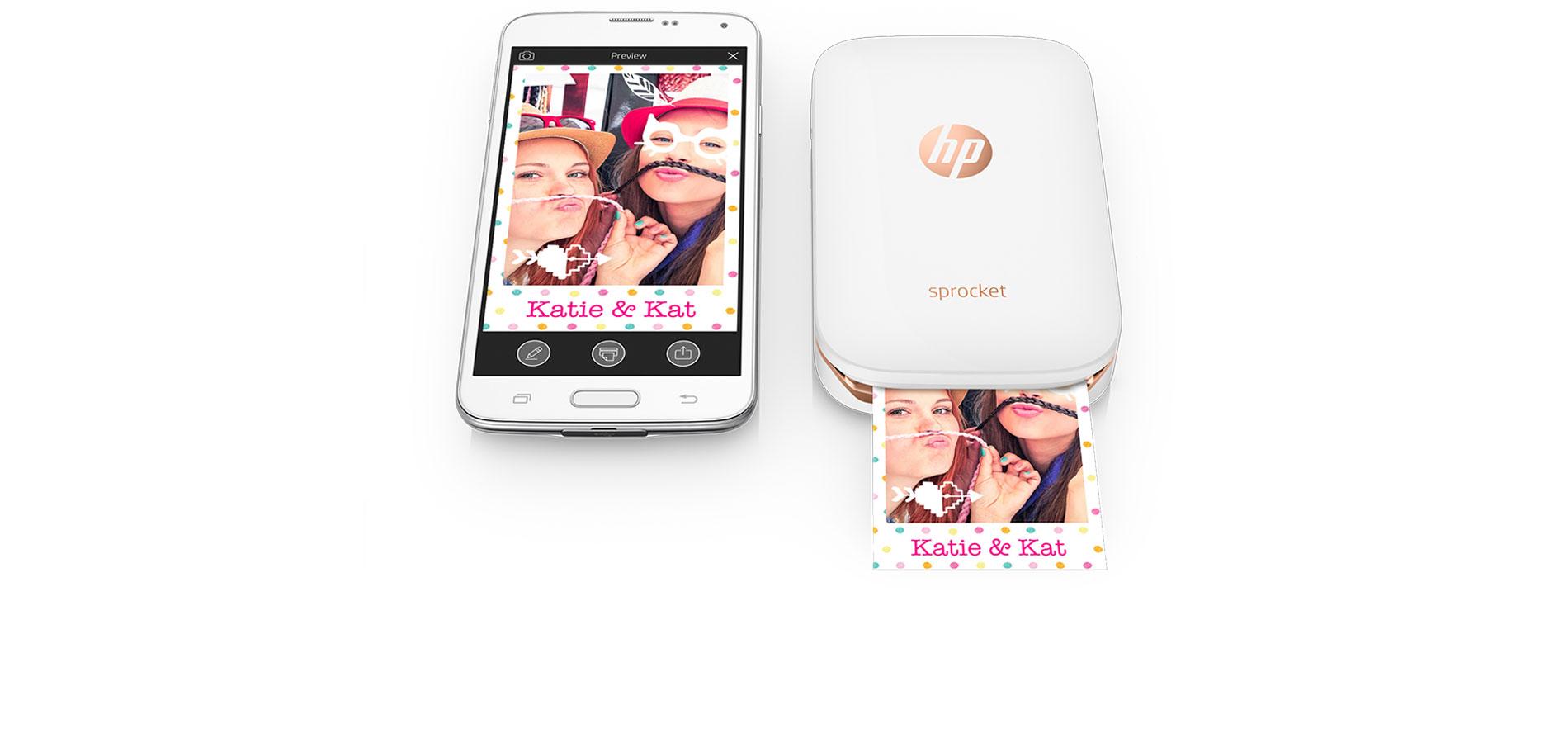 HP Sprocket : tirez des «Polaroid» depuis votre smartphone