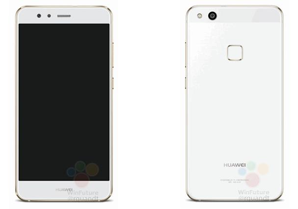MWC 2017 : Le Huawei P10 Lite montre son recto et son verso