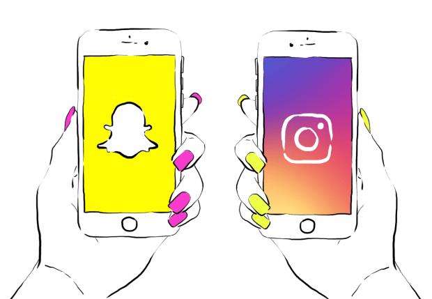 Snapchat a été ralenti par Instagram Stories