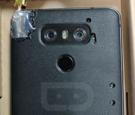 LG G6 : un prototype sauvage apparaît (en photos)