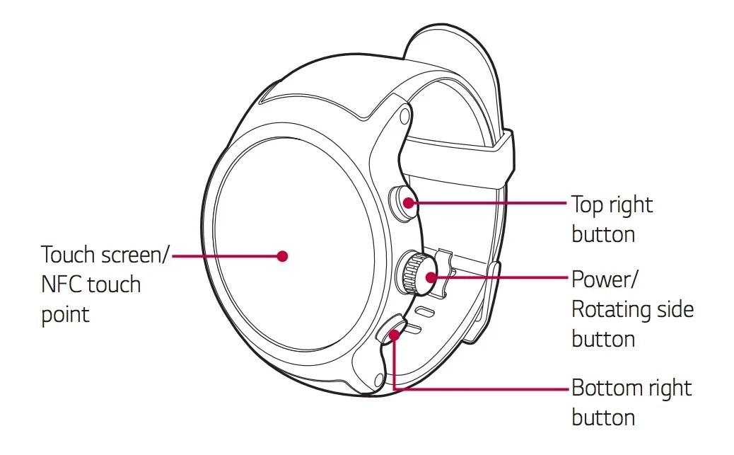 LG Watch Sport et Watch Style : le guide d'utilisation publié par erreur