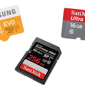 Which MicroSD card for your smartphone, Switch, GoPro or APN in 2020?