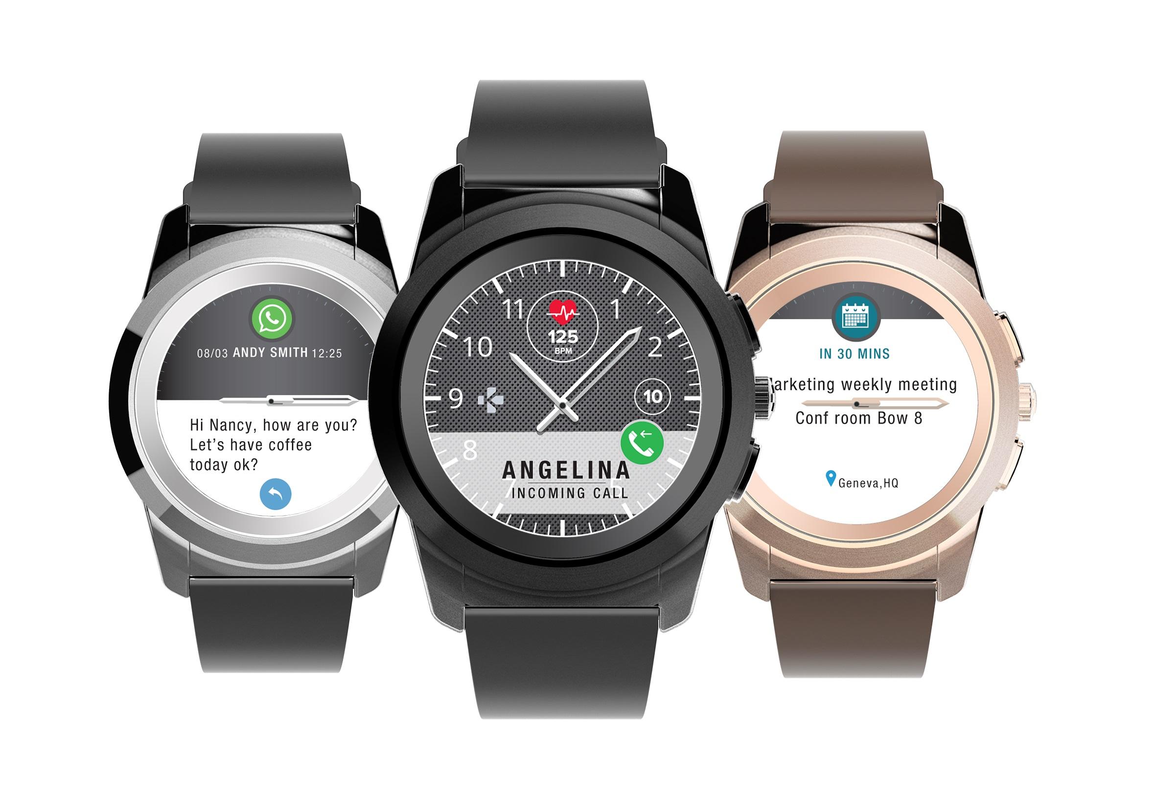 MyKronoz ZeTime : cette montre a à la fois un écran et des aiguilles