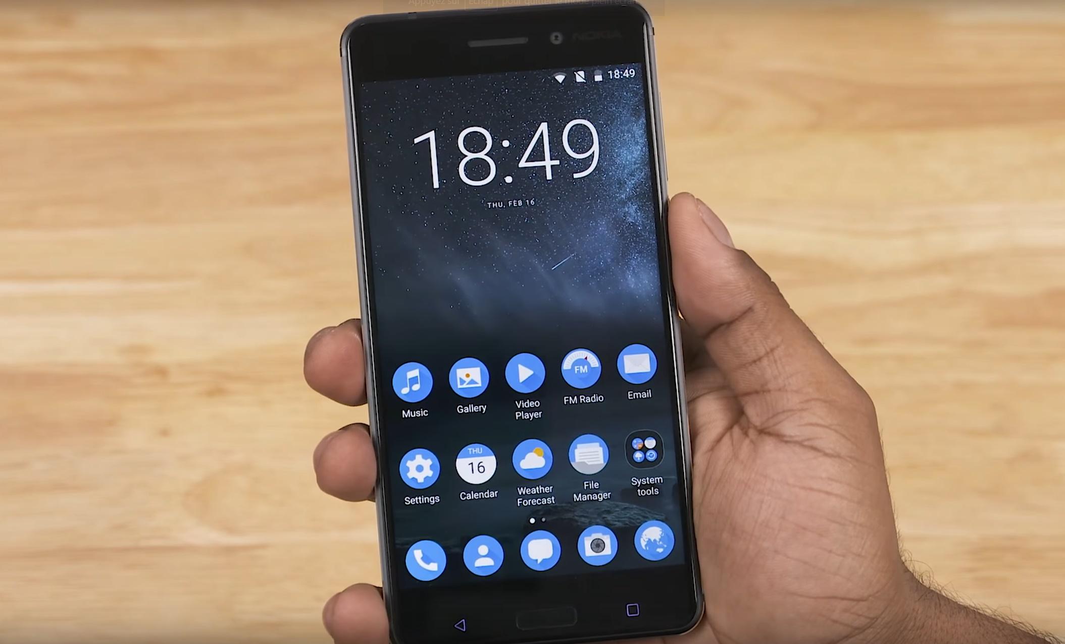 Android O : les Nokia 3, 5 et 6 seront mis à jour