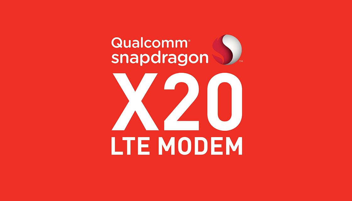 Qualcomm Snapdragon X20 : 1200 Mbps sur un modem 4G !