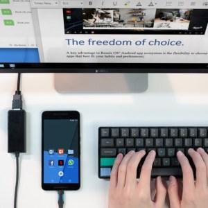 Remix Singularity permet d'utiliser son smartphone comme un PC