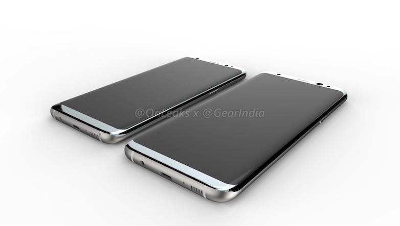 Samsung Galaxy S8 : les boutons ne seraient pas toujours affichés à l'écran