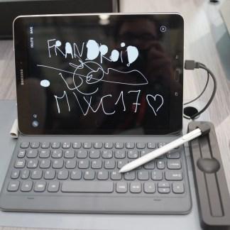 Prise en main de la Samsung Galaxy Tab S3, l'alternative à l'iPad Pro – MWC 2017