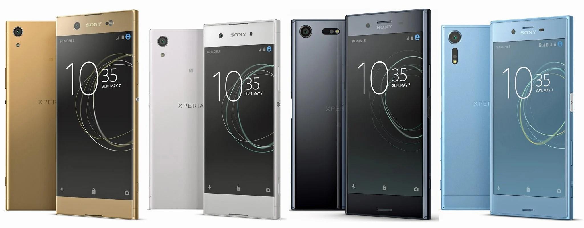 Sony Xperia : la gamme 2017 révélée avant l'heure – MWC 2017