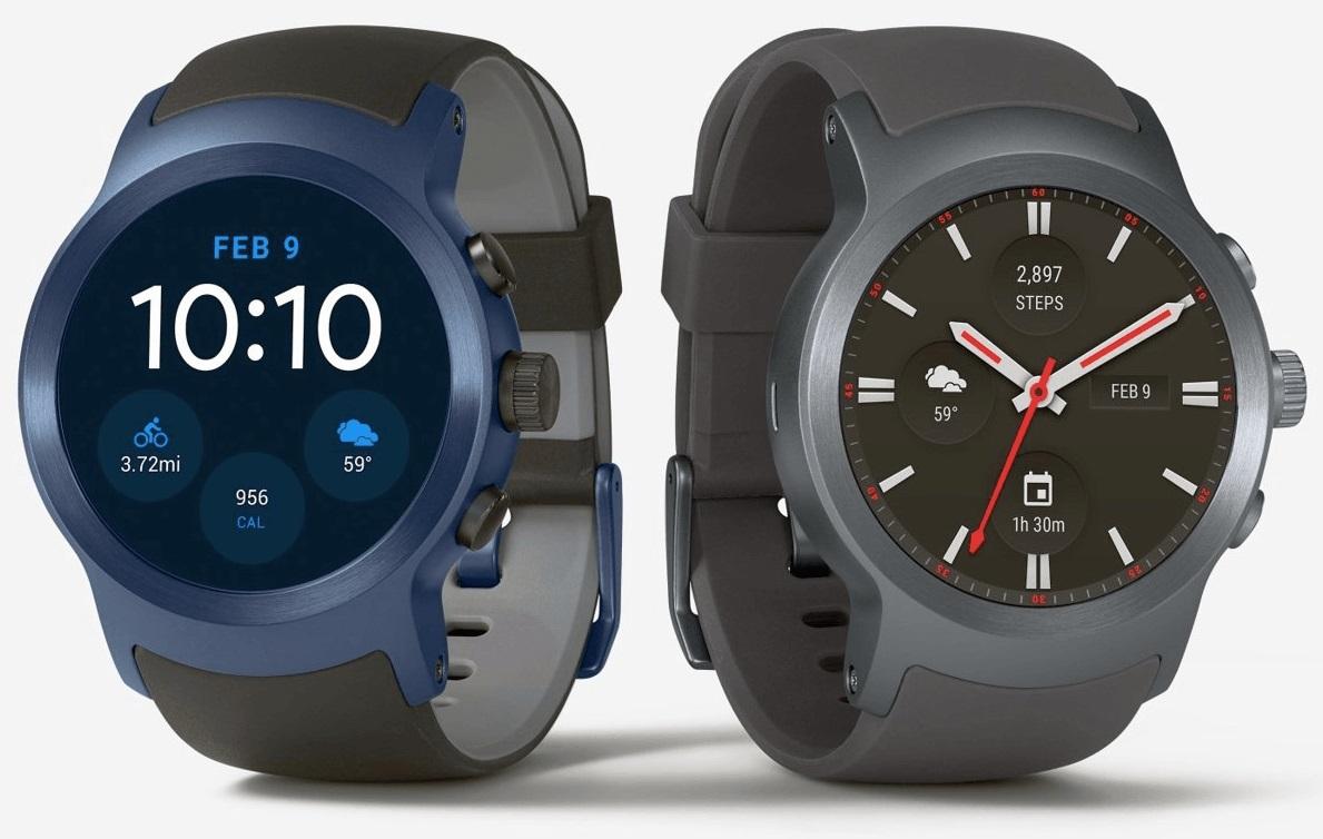 Vous ne pourrez pas remplacer les bracelets de la LG Watch Sport
