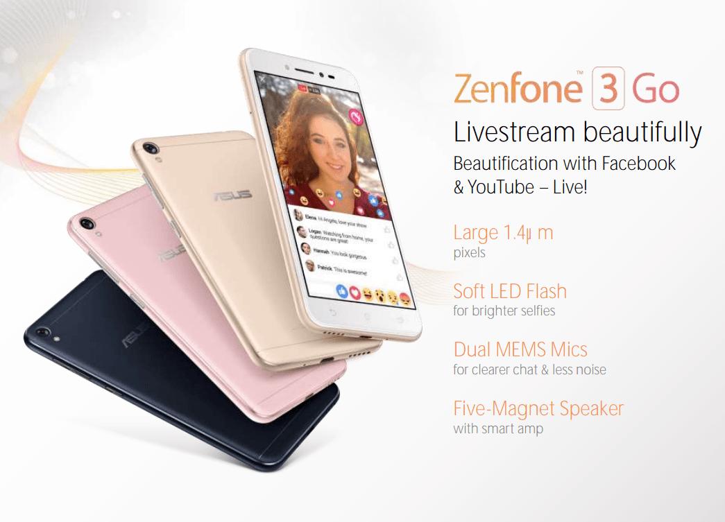 Asus Zenfone 3 Go : le voici, image et caractéristiques