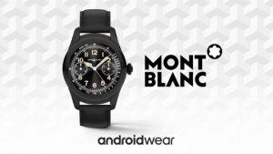 Montblanc Summit : une montre de luxe sous Android Wear, « pour ceux qui visent les sommets »