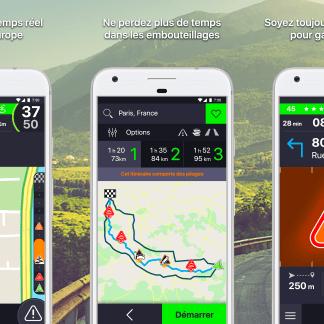 Coyote 10.5 : le meilleur des radars et du guidage avec Here