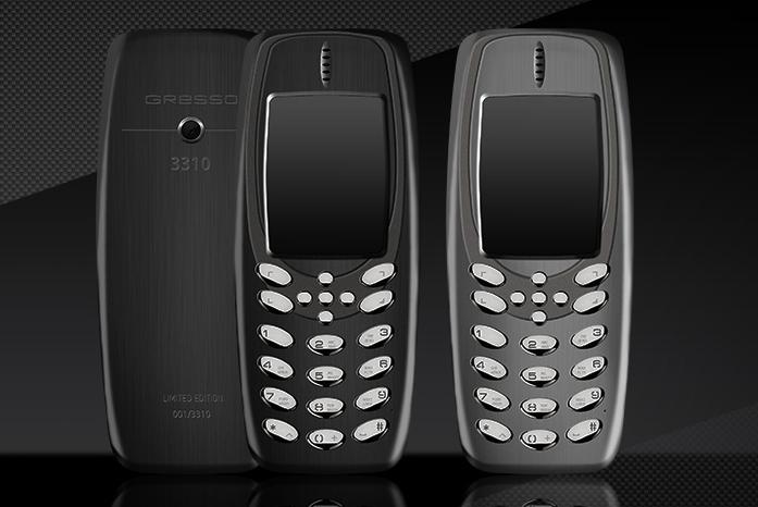 Un 3310 en titane en hommage à Nokia