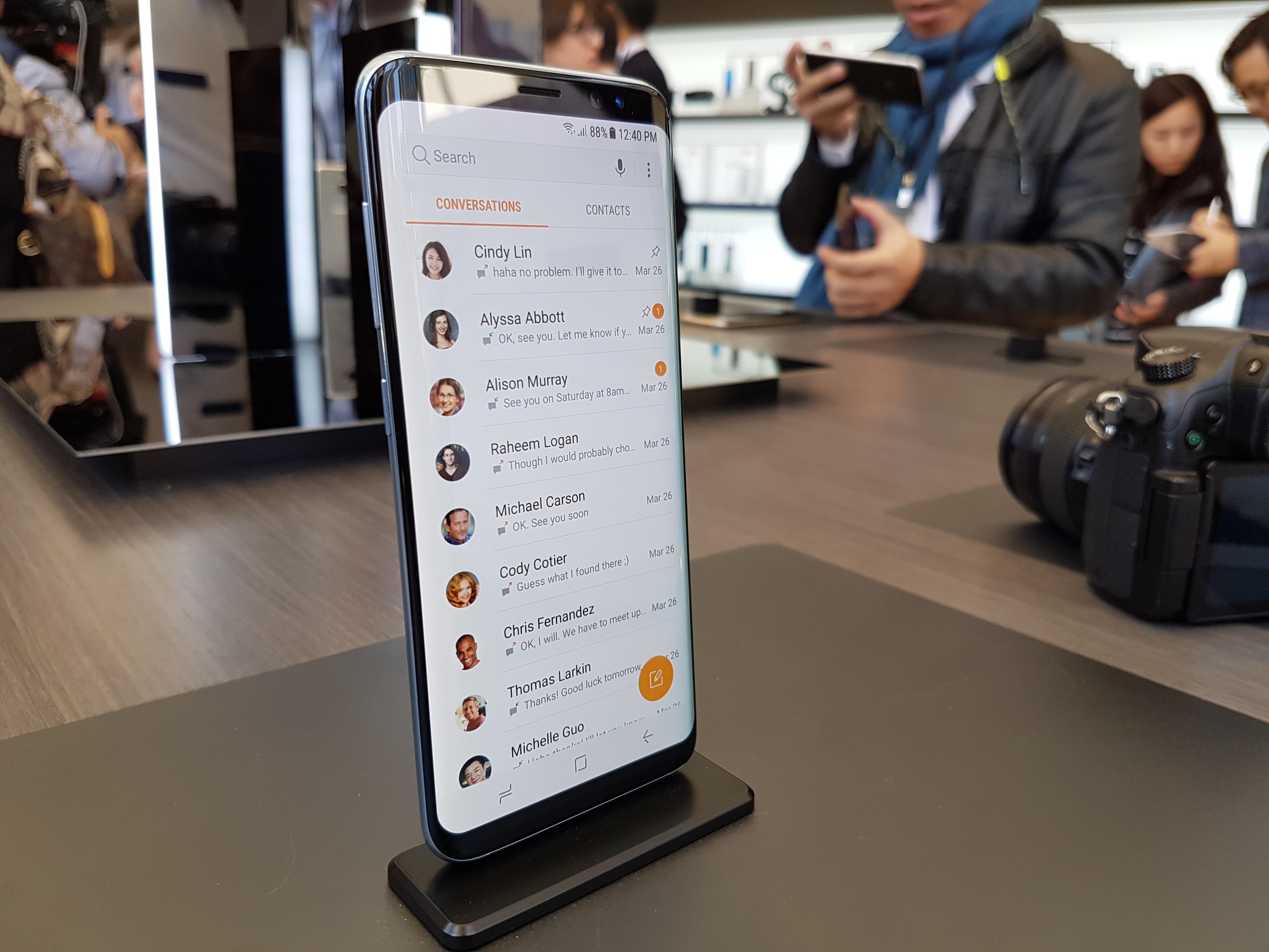 Samsung Galaxy S8 : des utilisateurs se plaignent d'un défaut de l'écran