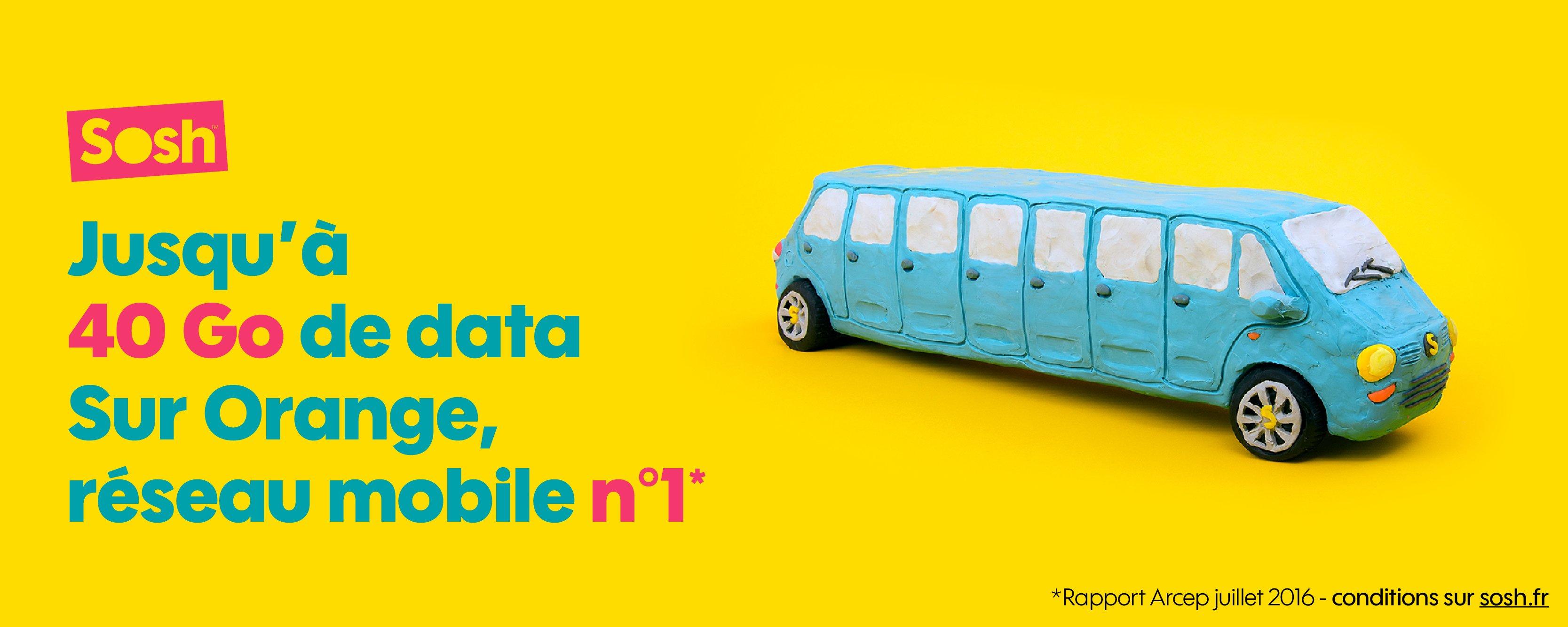 Orange augmente les quotas de data 4G pour ses forfaits Sosh, Play et Jet