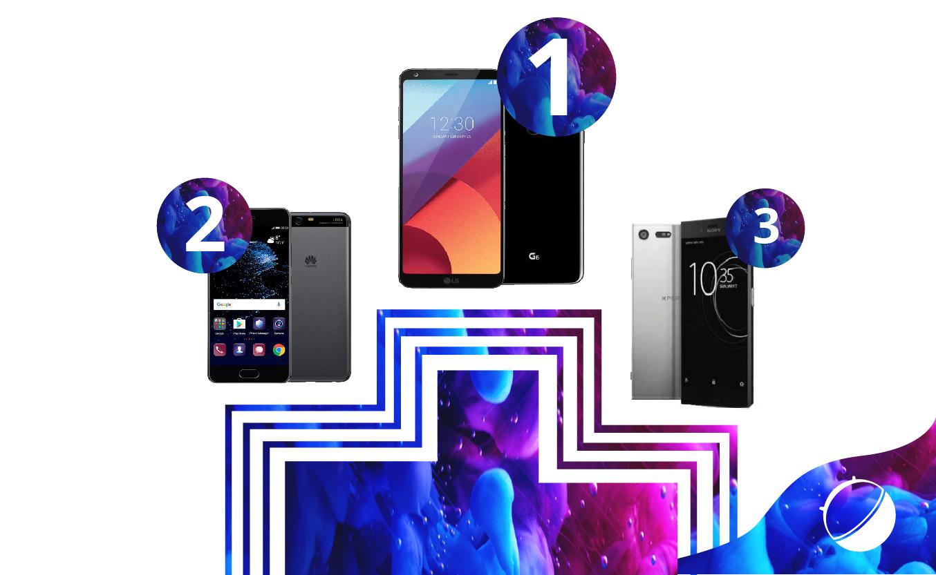 LG G6 : vous l'avez élu meilleur produit du MWC 2017