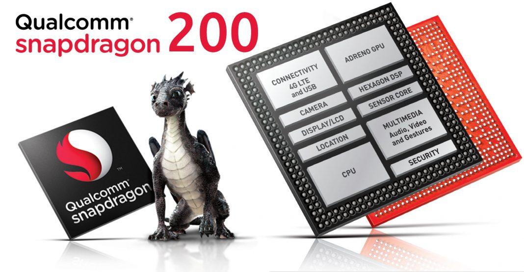Le Qualcomm Snapdragon 200 n'existe plus, il faudra dire Qualcomm Mobile 200