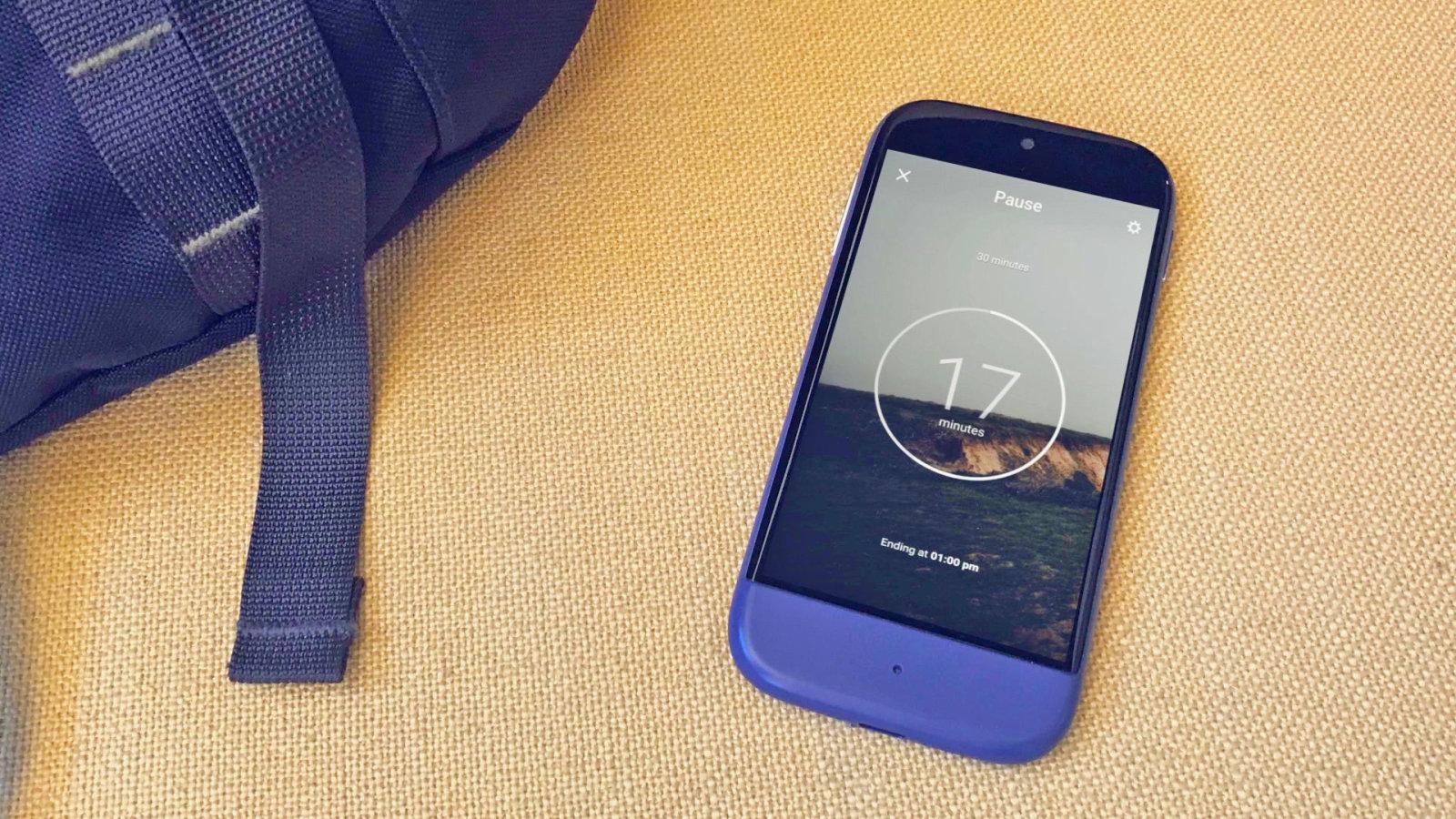 Siempo, un smartphone pour déconnecter