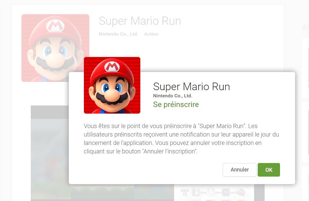 Super Mario Run est disponible demain sur Android, pré-inscrivez-vous dès maintenant !