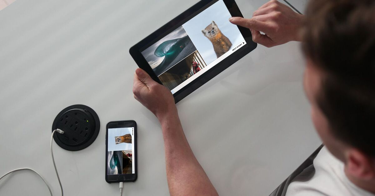 Superscreen : un écran 2K de 10 pouces pour transformer votre smartphone en tablette