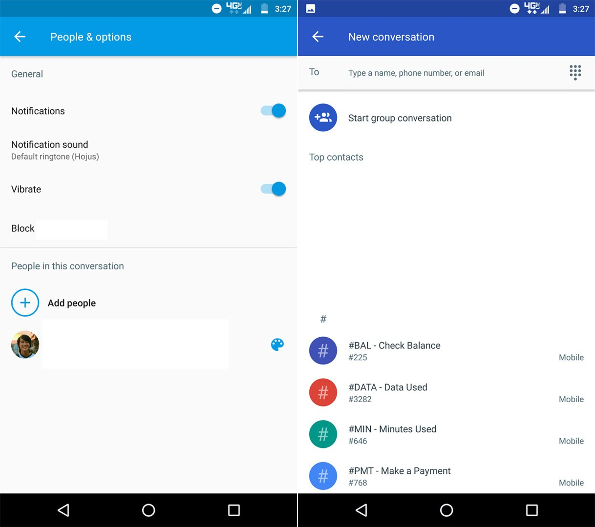 Android Messages : la nouvelle version simplifie les conversations de groupe