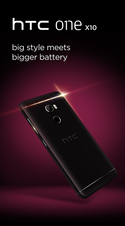 HTC One X10 : du «style» malgré sa grosse batterie