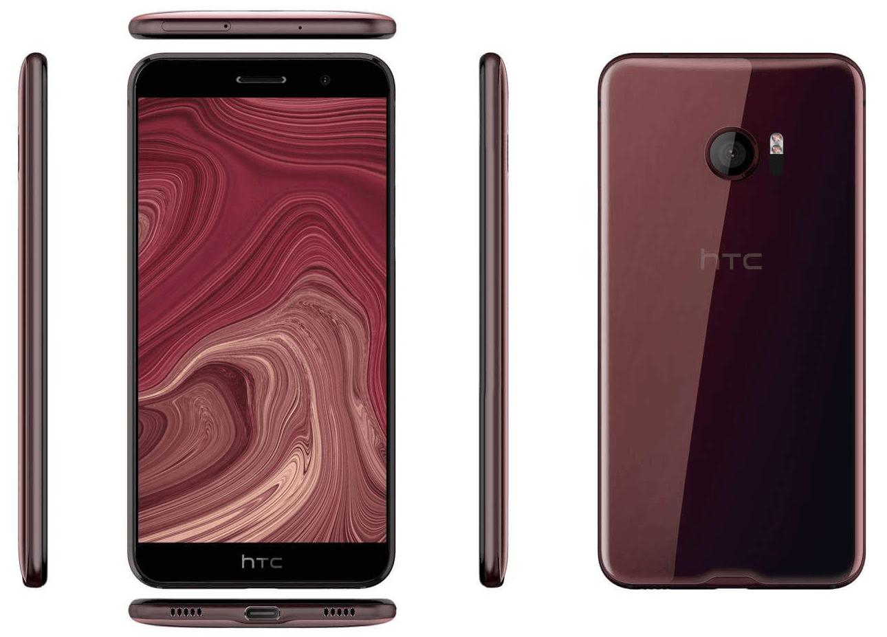 HTC U (Ocean) : un rendu dévoile le design supposé du smartphone sans boutons