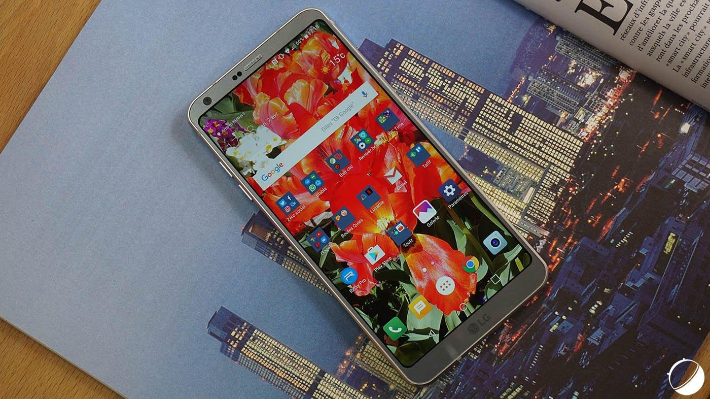 🔥 Bon plan : le LG G6 avec son écran borderless à 399 euros sur Amazon
