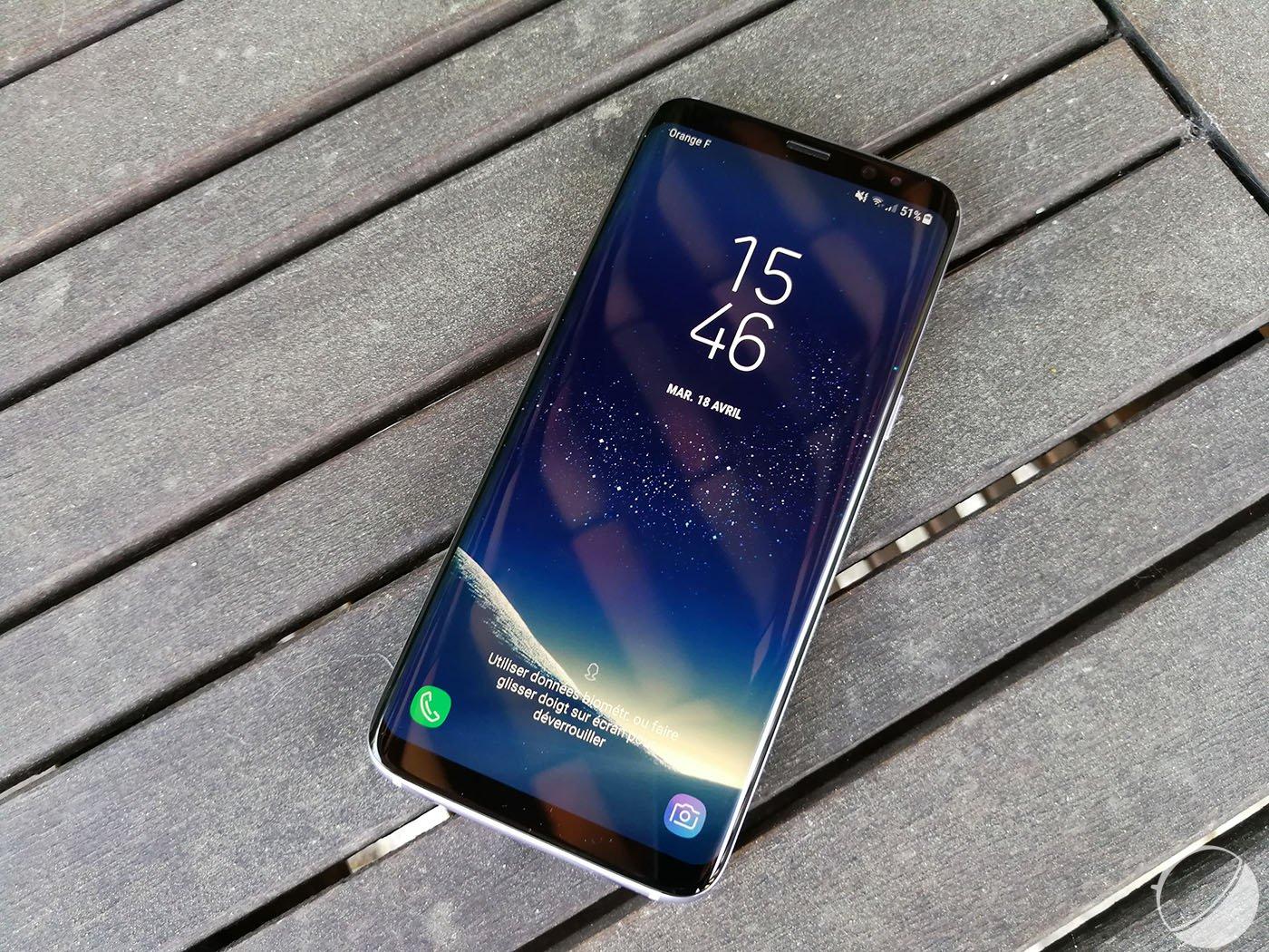 Écrans rouges des Galaxy S8 : Samsung nie tout défaut…mais promet un palliatif