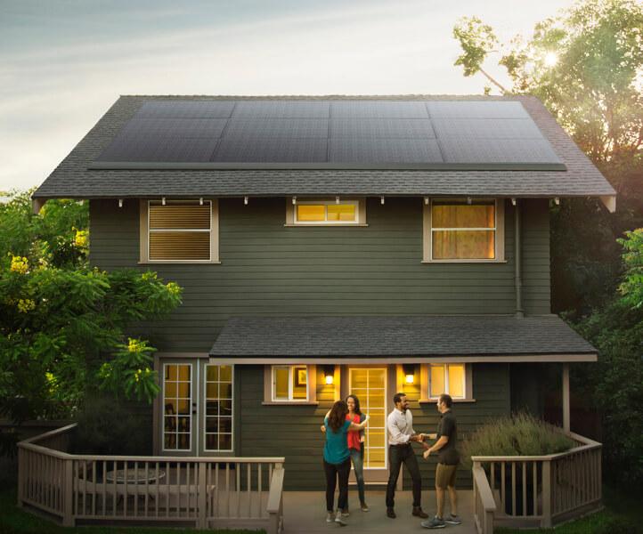Tesla rend les panneaux solaires «élégants»