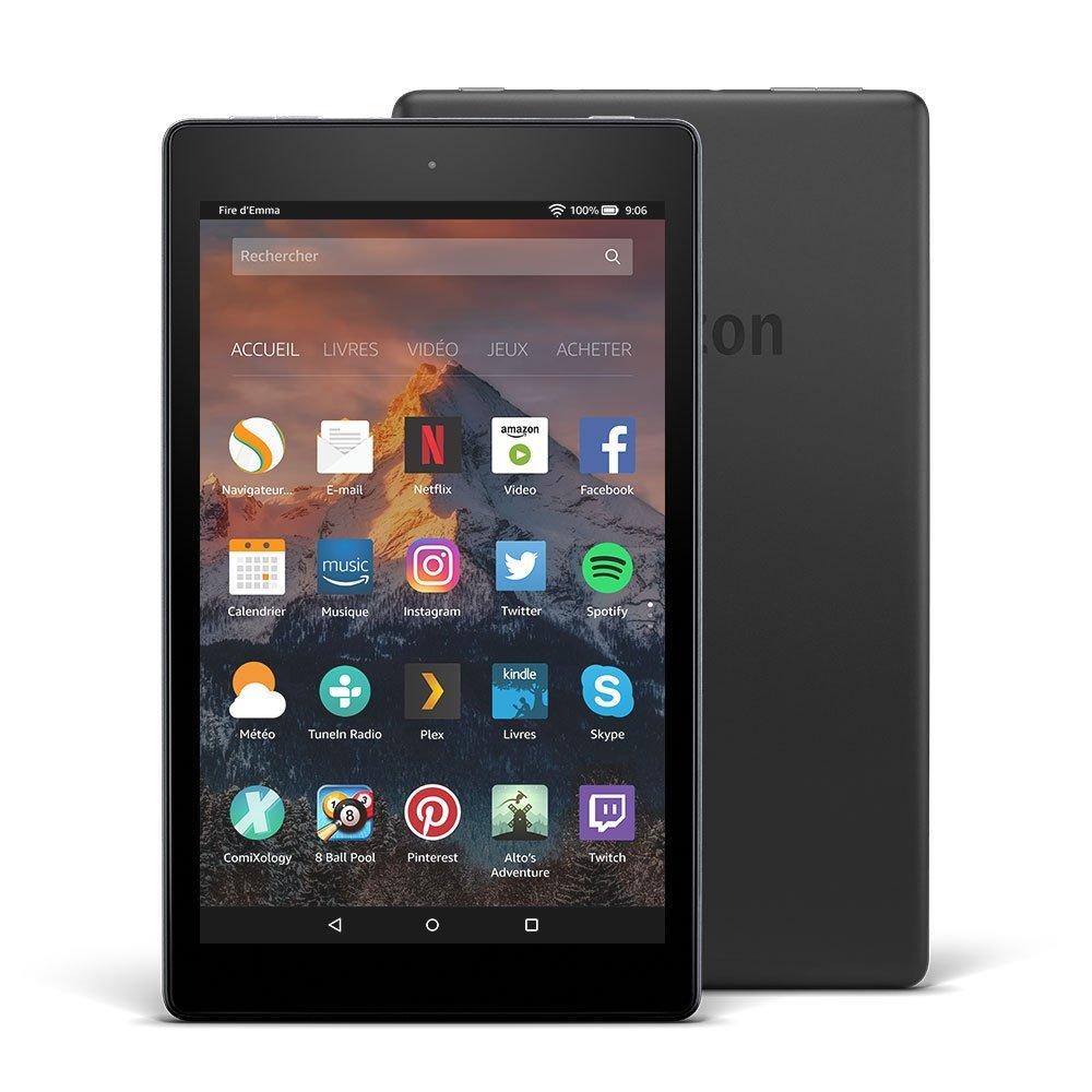 Amazon lance la Fire HD 8 (2017), quelles sont ses concurrentes ?