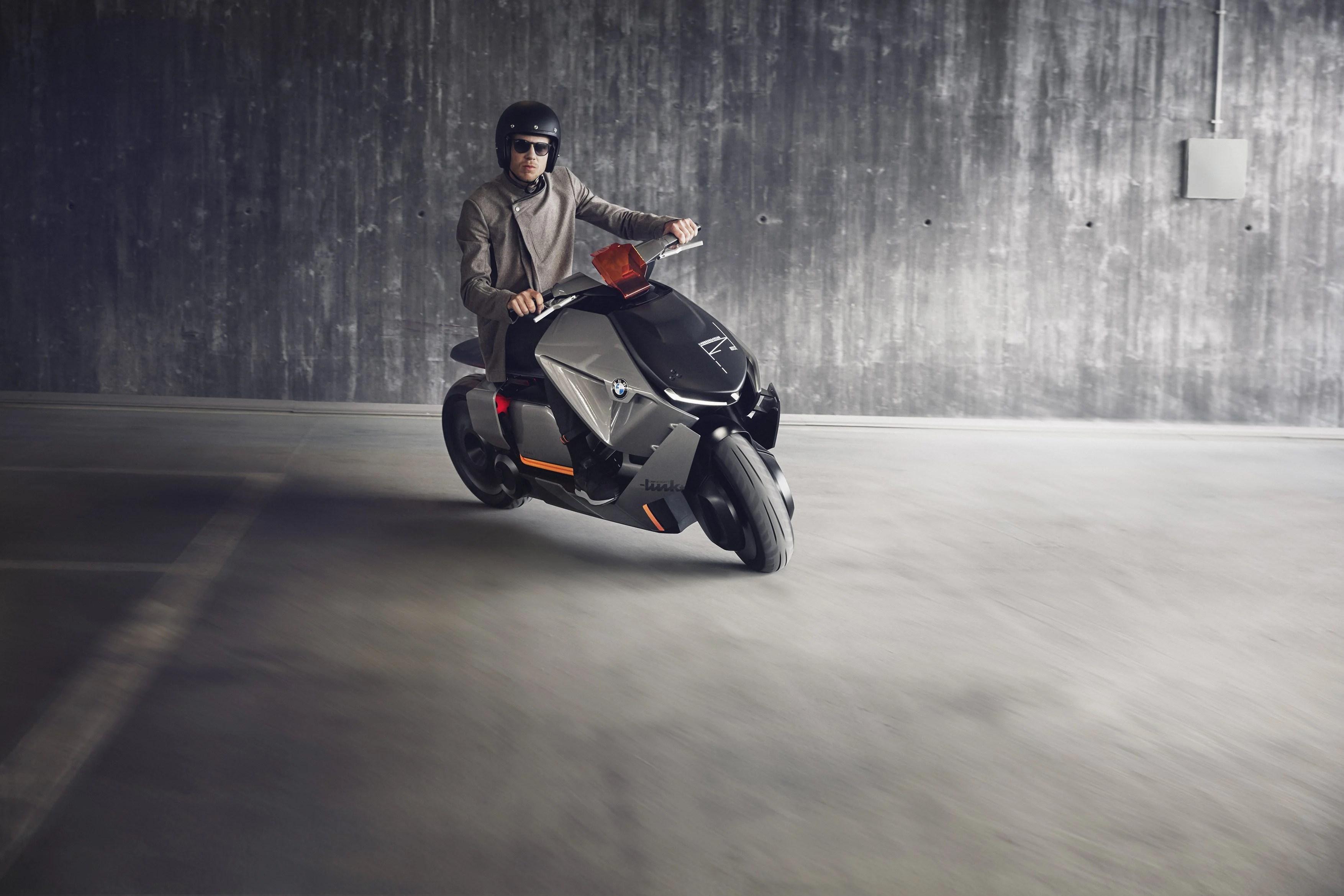 BMW dévoile un scooter aux lignes futuristes, électrique et connecté