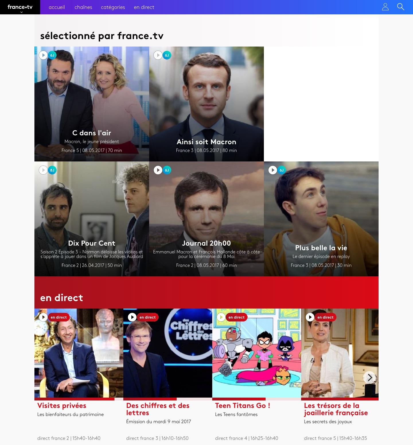 Voici france.tv, le service de replay moderne qui remplace Pluzz