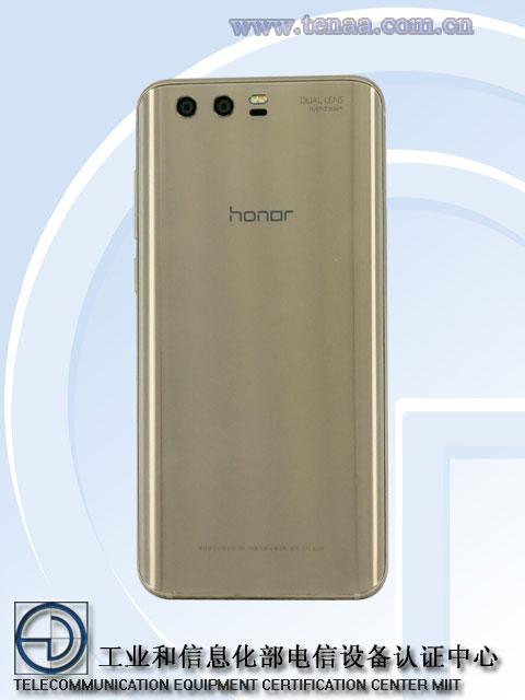 Voici le design du Honor 9