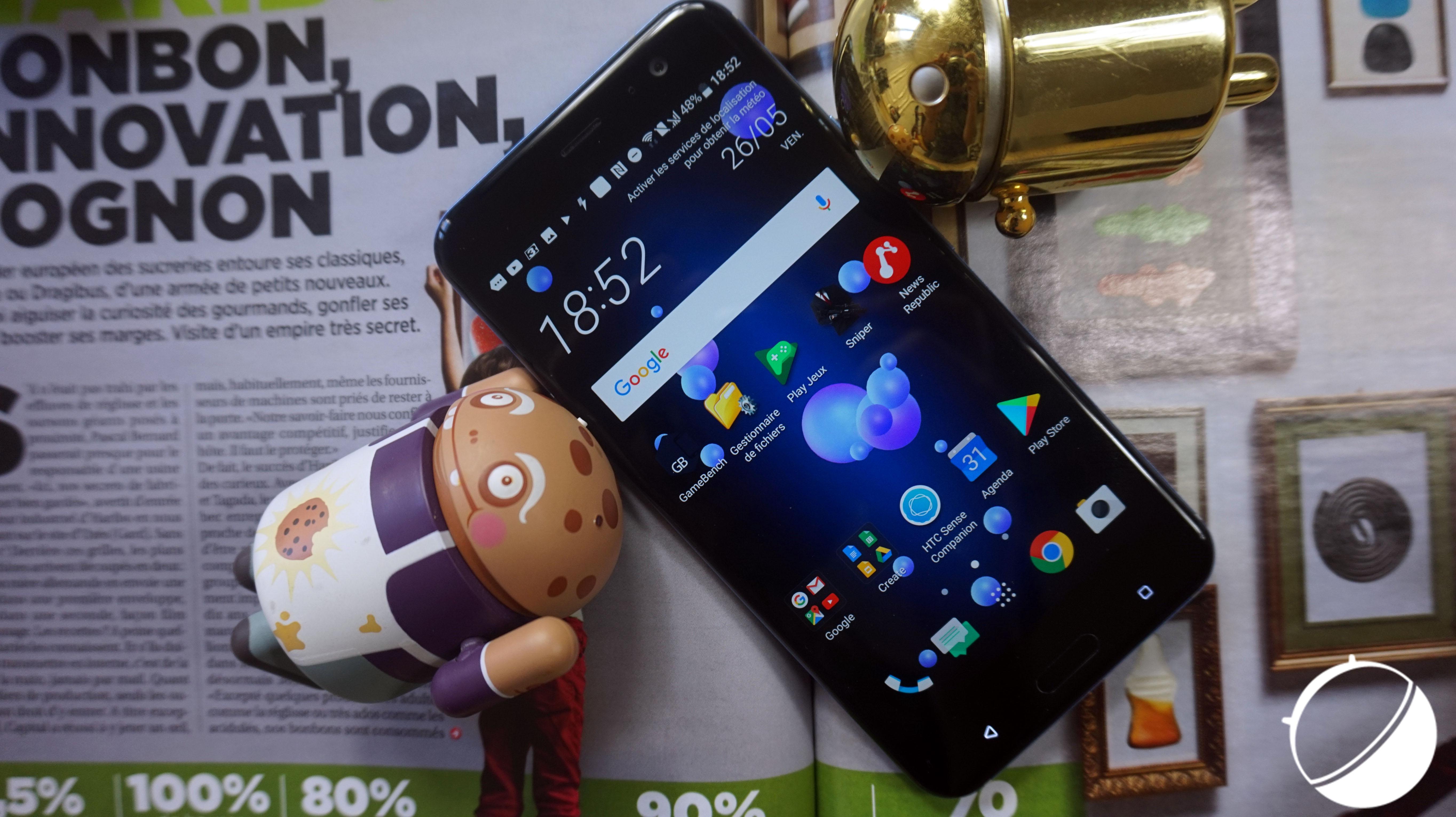 HTC U11 : une mise à jour logicielle pour accueillir le Bluetooth 5