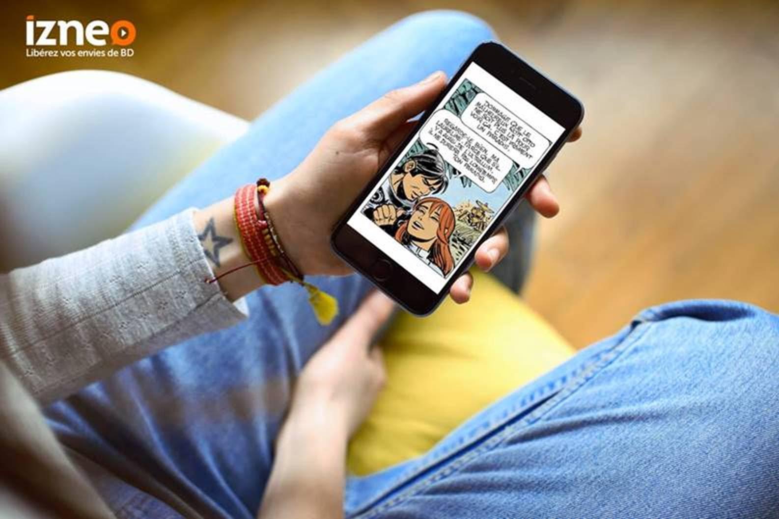 Izneo : le Netflix de la BD veut adapter la lecture à nos smartphones