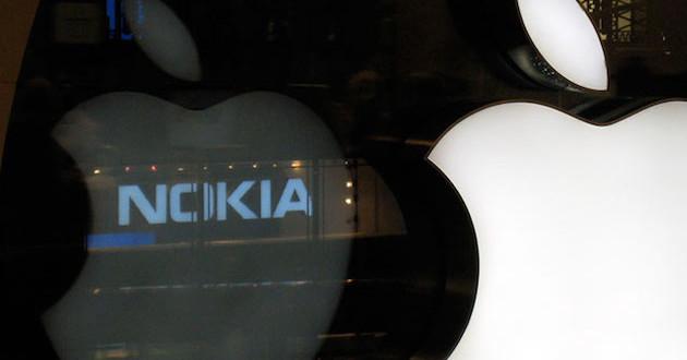 Apple cède devant Nokia