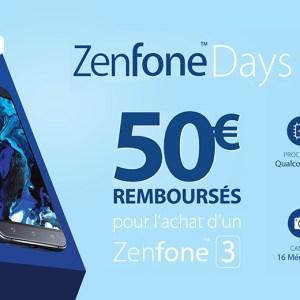 🔥 50 euros de réduction sur le Asus Zenfone 3 !