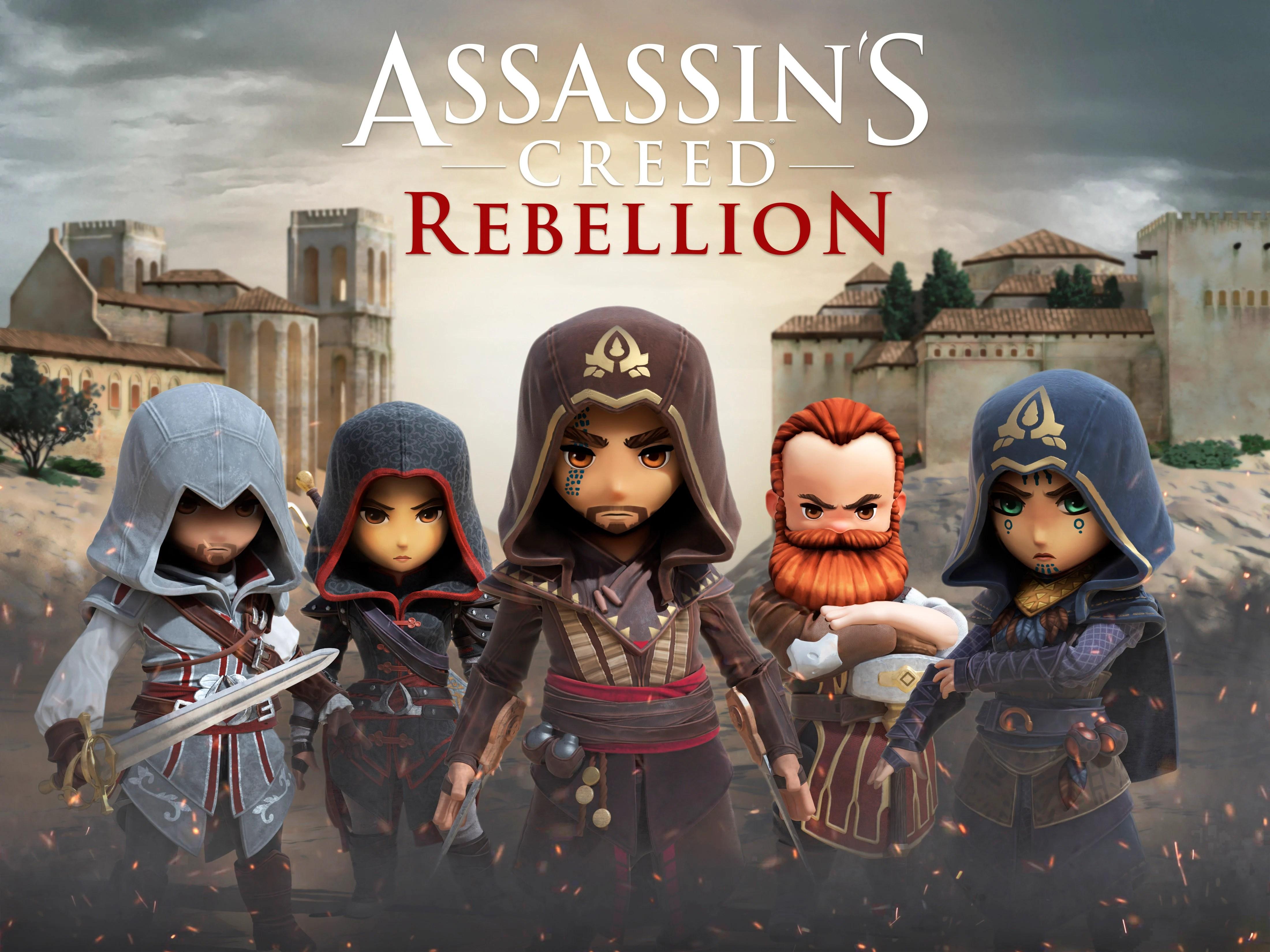 Assassin's Creed Rebellion: créez votre propre confrérie d'assassins sur smartphone